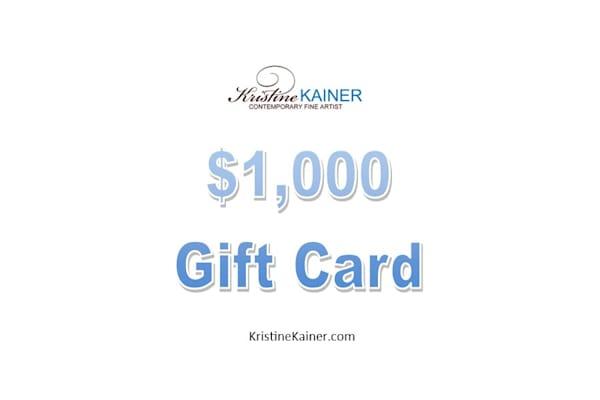 $1,000 Gift Card | Kristine Kainer