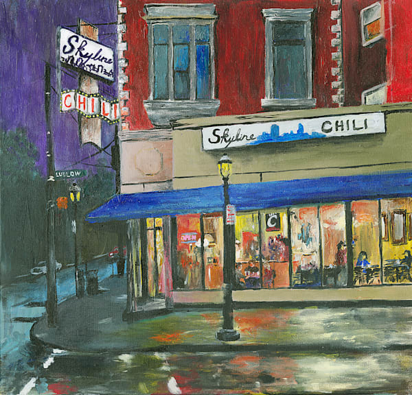 Skyline Chili Clifton Art | Cincy Artwork