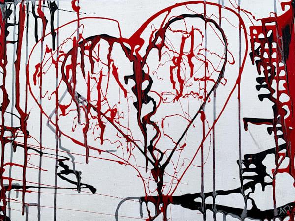 Bleeding Heart Art | Alena Dawn Art & Design