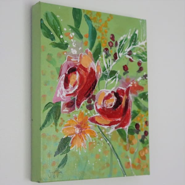 Roses Redefined I Art   Savy Jane Studios