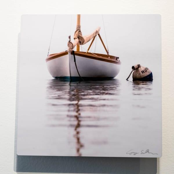 Herreshoff 12 1/2 #1 8x8 Metal | Cory Silken Photography