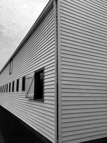 Barn In Angles   Art Show Matted Art | John Knell: Art. Photo. Design