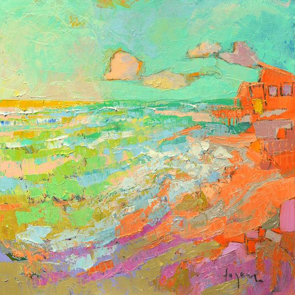 Island Of Dreams Ii Art | Dorothy Fagan Joy's Garden