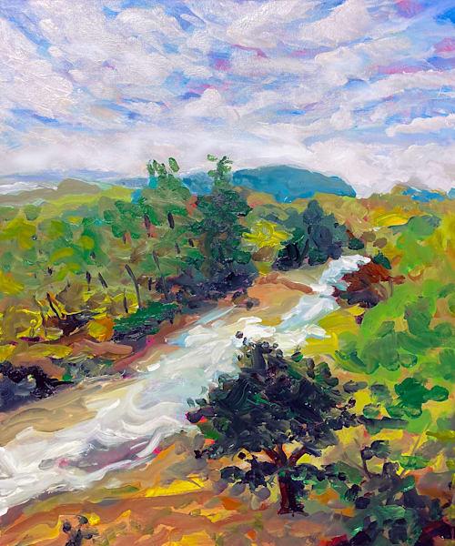 Along The Frio River Art | Charles Wallis