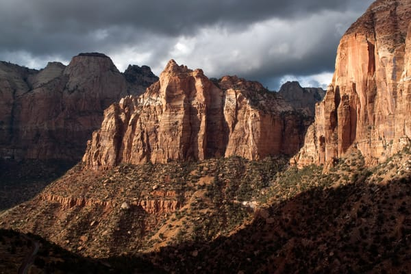 Storm Clouds Over Zion Photograph