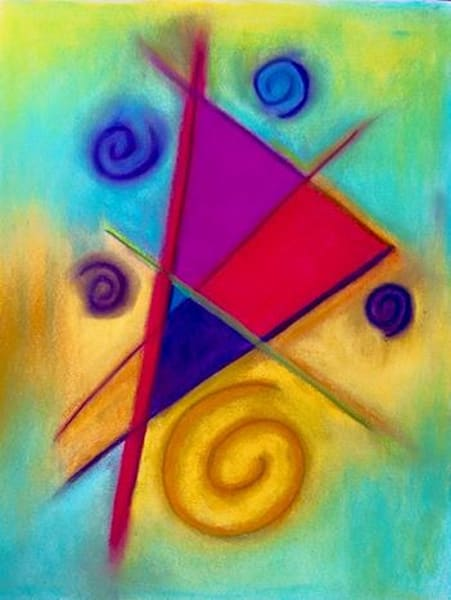 Abstract Pastel 2 Art | paigedeponte
