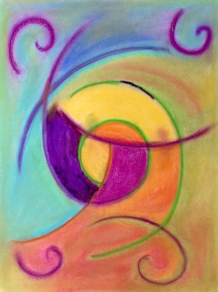Abstract Pastel 5 Art | paigedeponte
