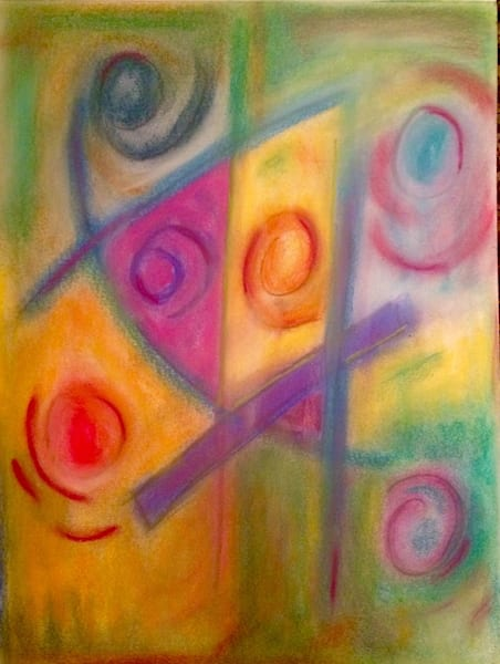 Abstract Pastel 1  Art | paigedeponte