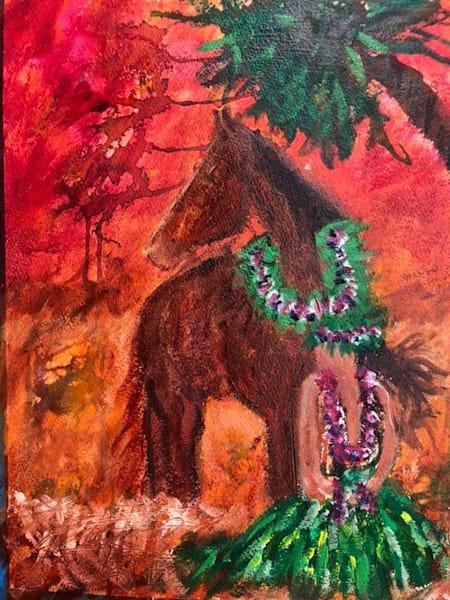 Hula Horse 5  Art   paigedeponte