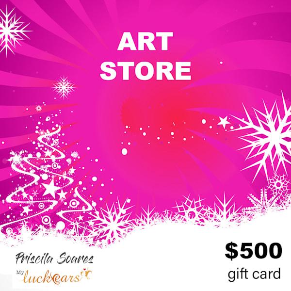 $500 Gift Card | Priscila Soares - MyLuckyEars