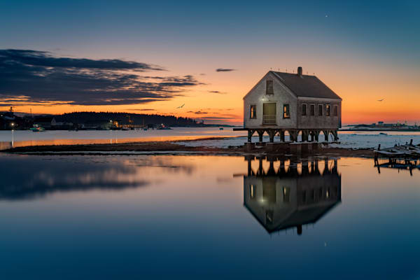 Cape Porpoise Reflections | Shop Photography by Rick Berk