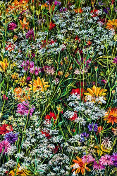 Secret Garden 2 Art   Channe Felton Fine Art