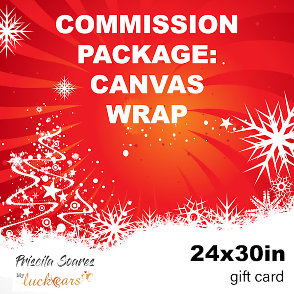 Commission   Canvas Print   24x30 | Priscila Soares