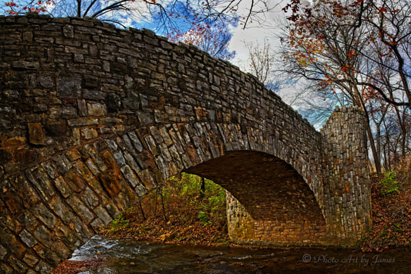Photo Art by James - Lincoln Bridge