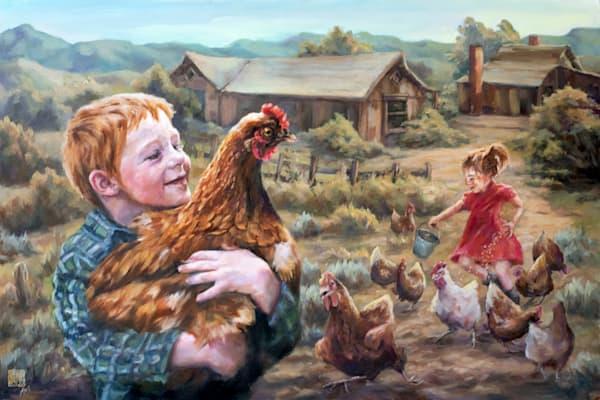 Making New Friends Art | Ans Taylor Art