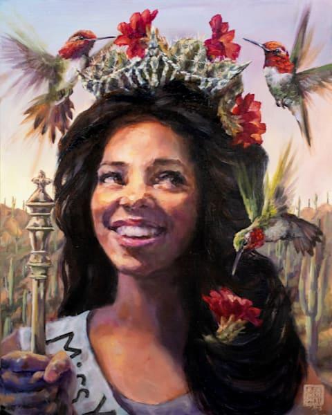 Cactus Queen: Seize The Day Art | Ans Taylor Art