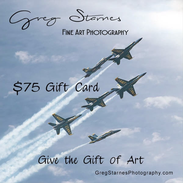 $75 Gift Card | Greg Starnes Phtography