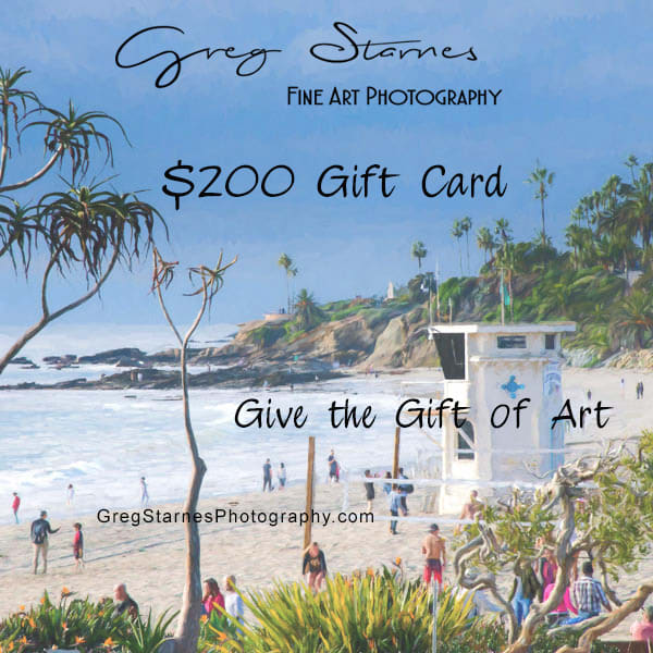 $200 Gift Card | Greg Starnes Phtography