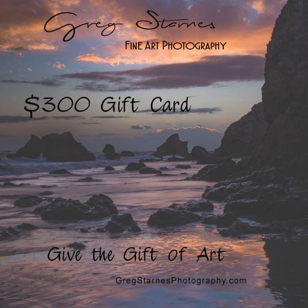$300 Gift Card | Greg Starnes Phtography