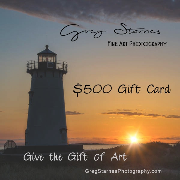 $500 Gift Card | Greg Starnes Phtography