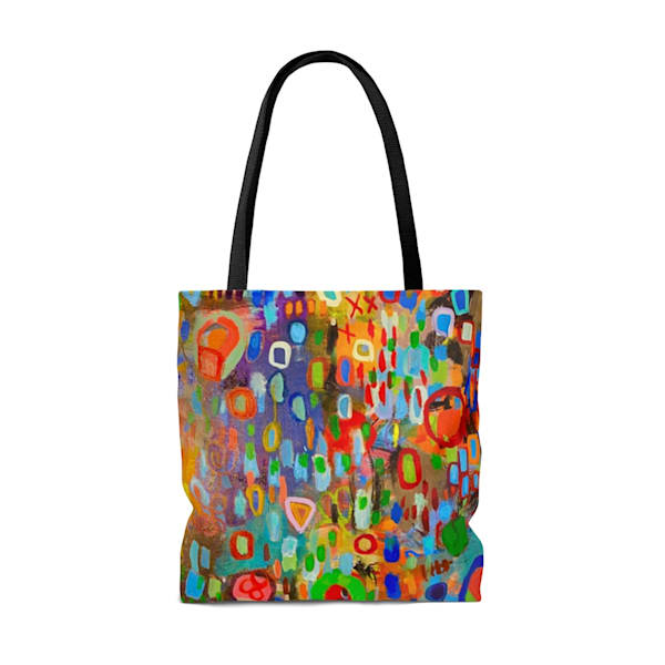 The Uprising Tote Large | Abstraction Gallery by Brenden