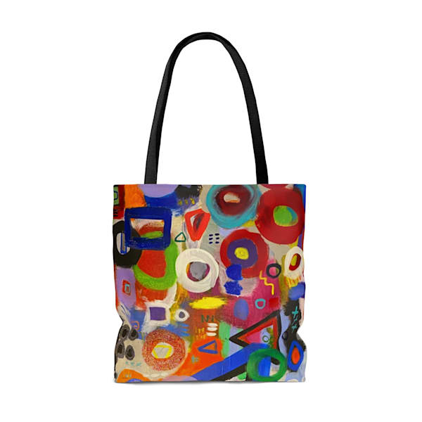 Synthesis Tote Bag  | Abstraction Gallery by Brenden