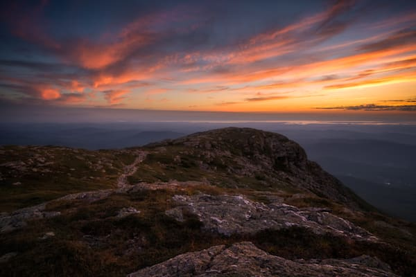 Mansfield Dusk   Long Trail Photography Art | C.H.Diegel Photography