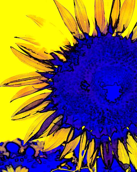 Sunflower Yellow Art | Cincy Artwork