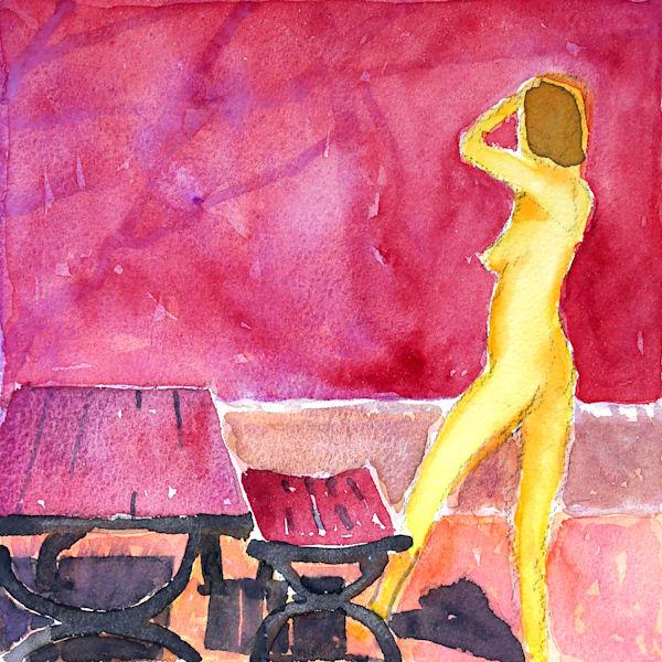 Yellow Woman Art   Courtney Miller Bellairs Artist