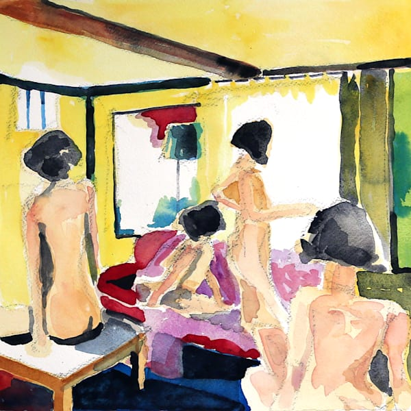 Lounge Ii Art | Courtney Miller Bellairs Artist
