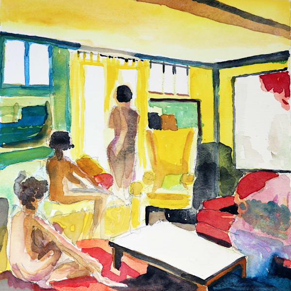 Lounge I Art | Courtney Miller Bellairs Artist