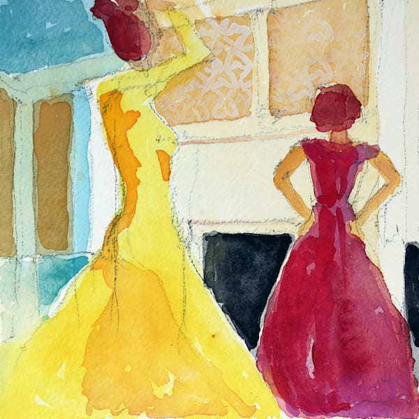 Ballroom Art | Courtney Miller Bellairs Artist