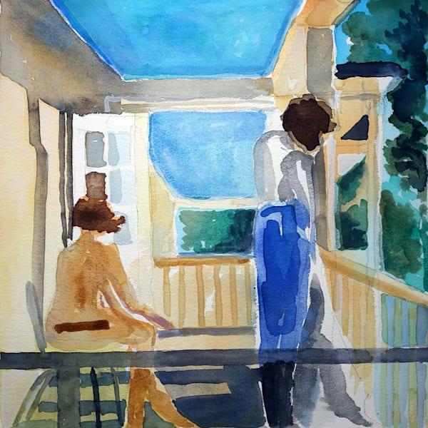 Waiting.  Art | Courtney Miller Bellairs Artist