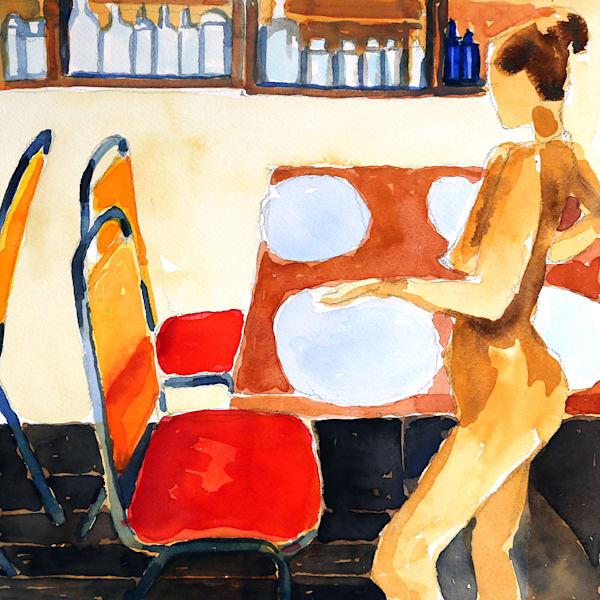 Diner Art | Courtney Miller Bellairs Artist