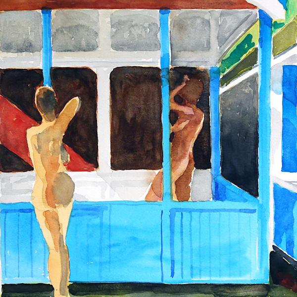 Holiday House I Art | Courtney Miller Bellairs Artist