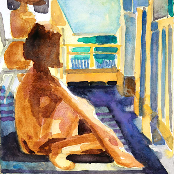 Waiting Art   Courtney Miller Bellairs Artist