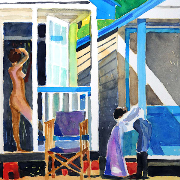 Holiday House Iii Art | Courtney Miller Bellairs Artist