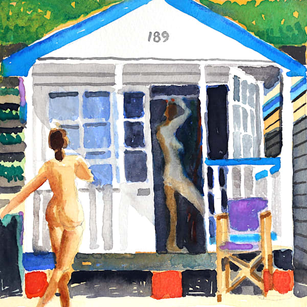 Holiday House Ii Art | Courtney Miller Bellairs Artist