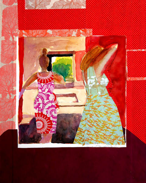 My Heart Will Not Fear. Art   Courtney Miller Bellairs Artist