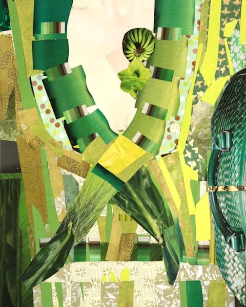 Green Torso. Art   Courtney Miller Bellairs Artist