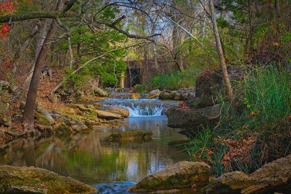 Photo Art by James - Travertine Creek