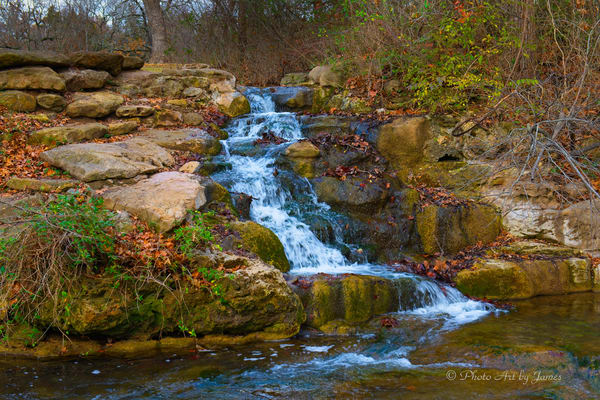 Photo Art by James - Travertine Creek Falls