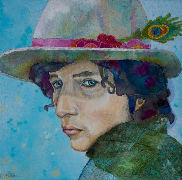 Bob Dylan Tangled Up  Art | Karen Payton Art