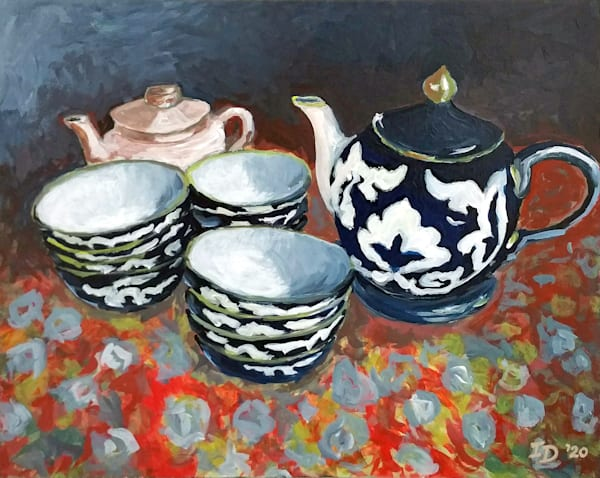 Tea Pots And Bowls | smalljoysstudio