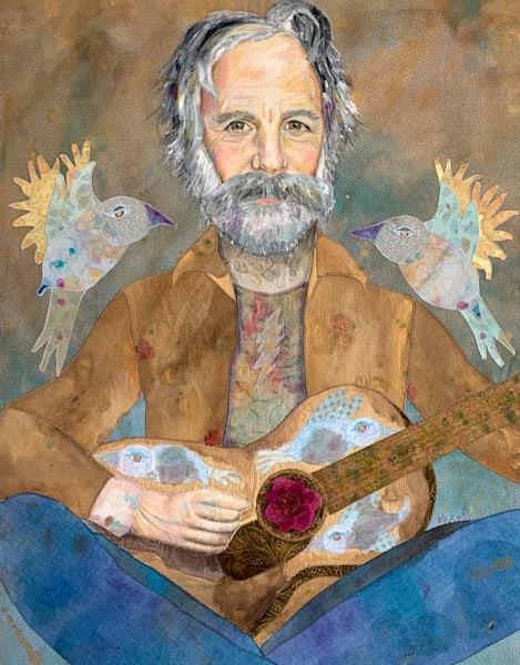 Bob Weir; Saint Of Circumstance Art | Karen Payton Art