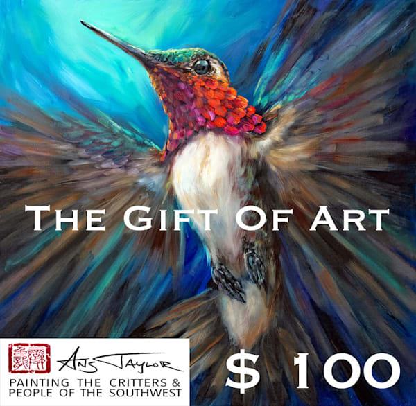 $100 Gift Card | Ans Taylor Art
