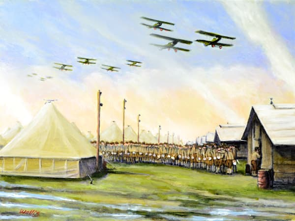 Camp Mc Arthur 1917  Art | Charles Wallis