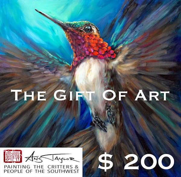 $200 Gift Card  | Ans Taylor Art