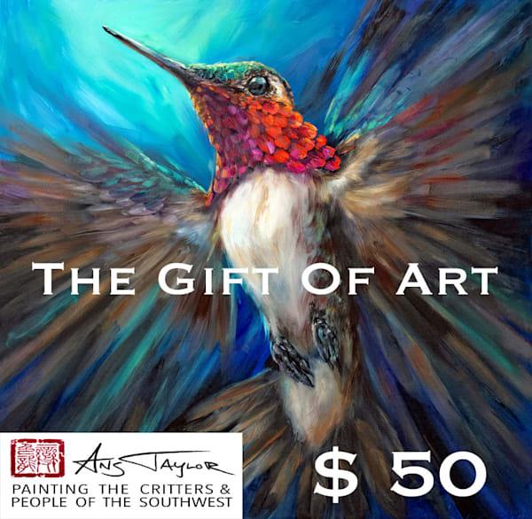 $50 Gift Card | Ans Taylor Art