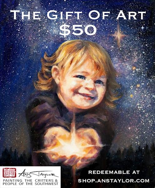 $50 Christmas Gift Card | Ans Taylor Art